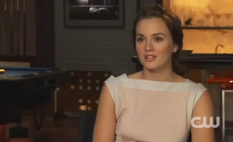 Leighton Meester, Penn Badgley, Kaylee DeFer Talk Gossip Girl