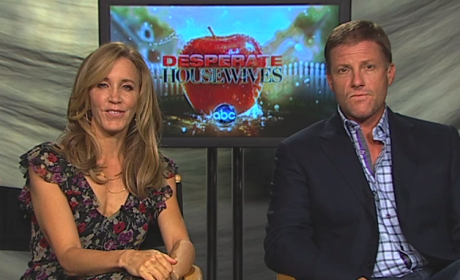 Desperate Housewives Exclusive: Felicity Huffman and Doug Savant on Saying Goodbye, Splitting Up