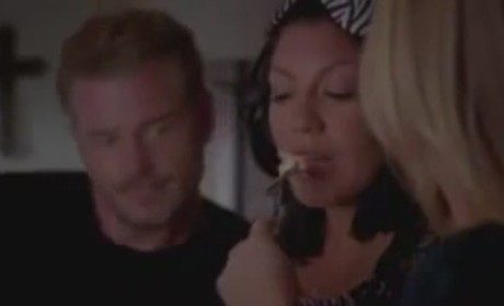 Grey's Anatomy 'Poker Face' Clip: Breakfast in Bed