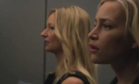 Covert Affairs Season 3 Clip: Elevator Awkwardness