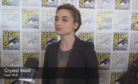 Crystal Reed Comic-Con Interview