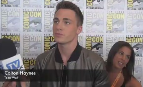 Colton Haynes Comic-Con Interview