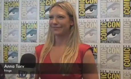 Anna Torv Comic-Con Interview