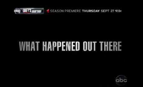 Grey's Anatomy Season Nine Promo