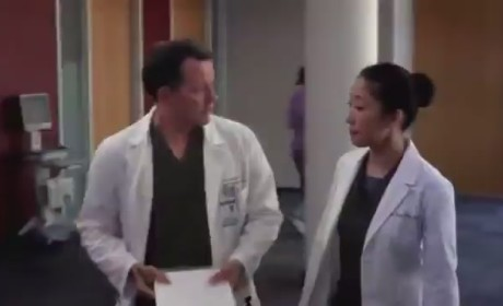 Grey's Anatomy 'Love the One You're With' Clip - Turn That Frown Upside Down!