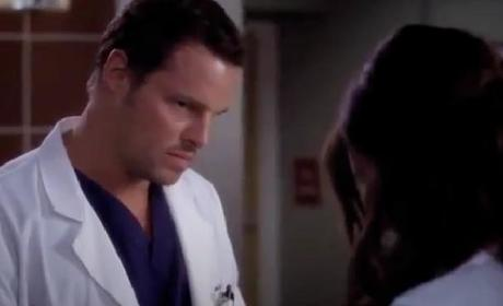 Grey's Anatomy 'Love the One You're With' Clip - Crying