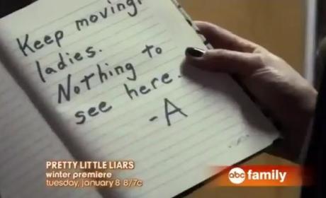 Pretty Little Liars Return Teaser