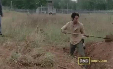 The Walking Dead Clip: Comforting Glenn