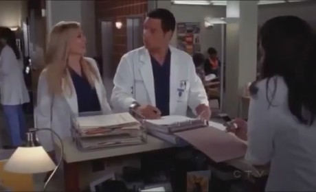 Grey's Anatomy 'I Was Made For Lovin' You' Clip - Arizona's Back!
