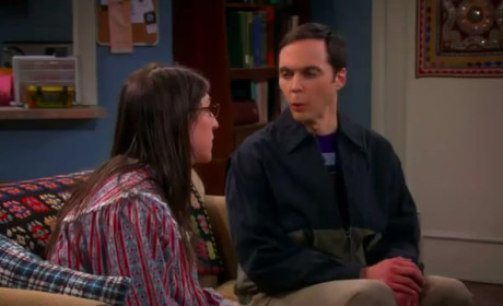 The Big Bang Theory Clip: A Spanking