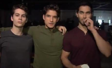 Teen Wolf Season Three: Behind the Scenes...