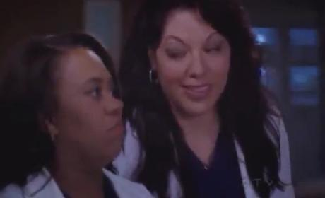 Grey's Anatomy 'The End is the Beginning is the End' Clip - Callie and Bailey