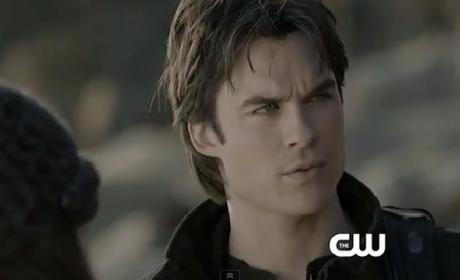 The Vampire Diaries Clip: Will Damon Be Cured?