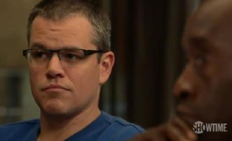 Matt Damon on House of Lies: First Hilarious Look!