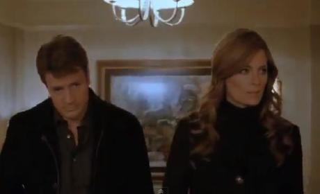 Castle Clip: On the Set