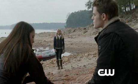 The Vampire Diaries Clip: Stelena Time