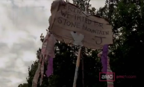 The Walking Dead Sneak Peeks: Stranger Danger?
