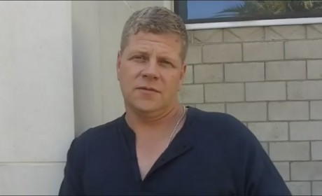 Michael Cudlitz On Set