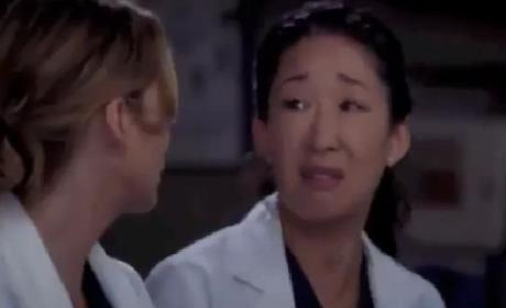 Grey's Anatomy 'Sleeping Monster' Clip - I Need You There
