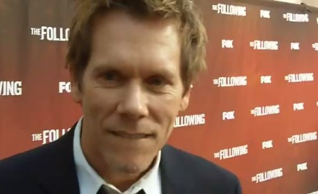 Kevin Bacon Red Carpet Interview
