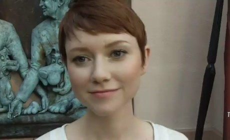 Valorie Curry Red Carpet Interview