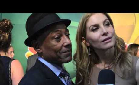 Giancarlo Esposito and Elizabeth Mitchell Interview