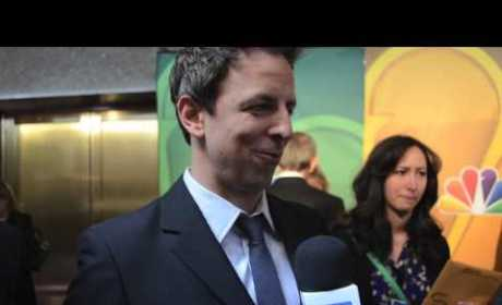 Seth Meyers Talks Move to Late Night, SNL Season Finale