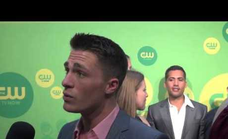Colton Haynes Teases Arrow Season 2