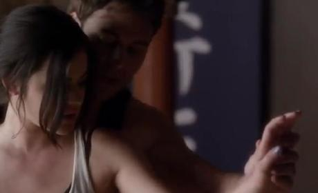 Pretty Little Liars Clip: Aria and Jake