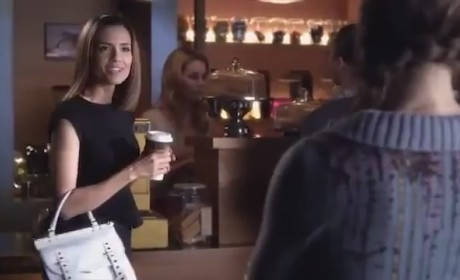 Pretty Little Liars Clip: Questioning Melissa