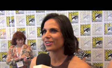 Lana Parrilla Comic-Con Interview