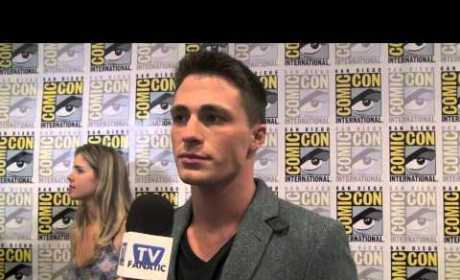 Colton Haynes Previews Arrow Season 2, A Look Into Roy's Past