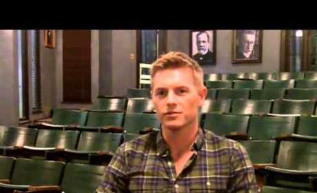 Rick Cosnett Previews New Vampire Diaries Character, Laments Lack of Twitter Ability