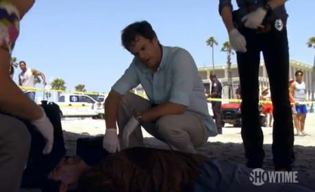 Dexter Season Premiere Clip: An Unusual Corpse