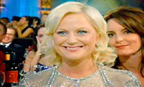 Golden Globe Awards Moment of the Night: A Tina Fey Photo Bomb!