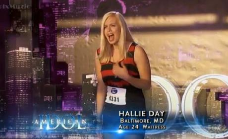 Hallie Day Audition