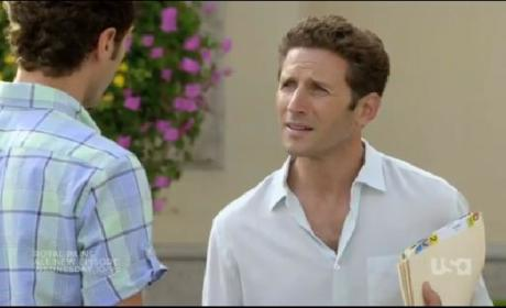 "Royal Pains Promo: ""My Back to the Future"""