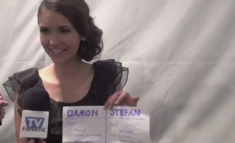 Nina Dobrev PaleyFest Interview