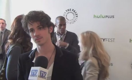 Connor Paolo PaleyFest Interview