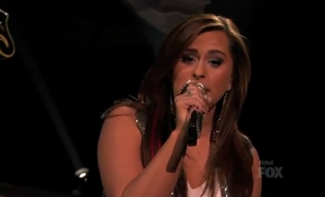 "Skylar Laine American Idol Performance: ""Born This Way"""
