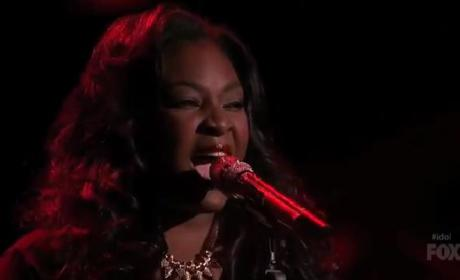 "Candice Glover Performs ""Love Song"""