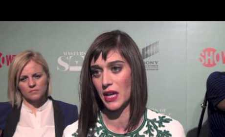 Lizzy Caplan Talks Masters of Sex