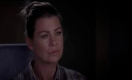 "Grey's Anatomy ""Everybody's Crying Mercy"" Clip - Richard and Meredith"