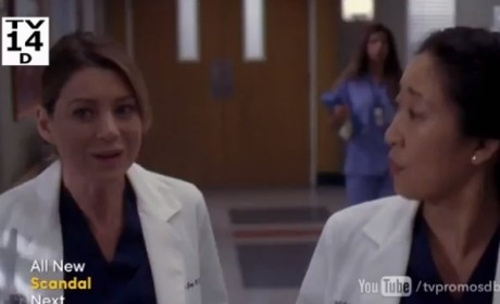 "Grey's Anatomy Promo: ""I Bet It Stung"""