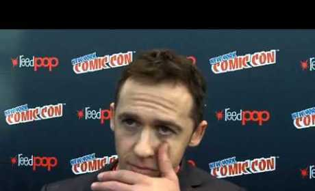 Jeff Davis at New York Comic-Con