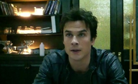 Ian Somerhalder Set Interview
