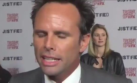 Walton Goggins and Joelle Carter Interview