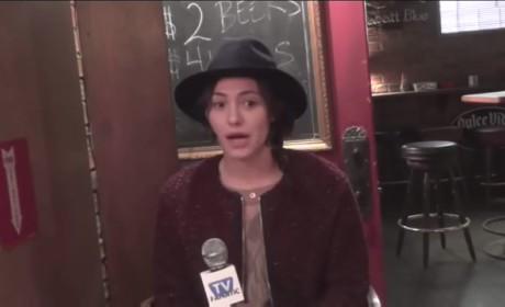 Emmy Rossum & Emma Kenney Talk Shameless