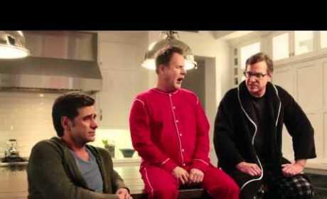 Full House Stars Unite for Dannon Super Bowl Ad