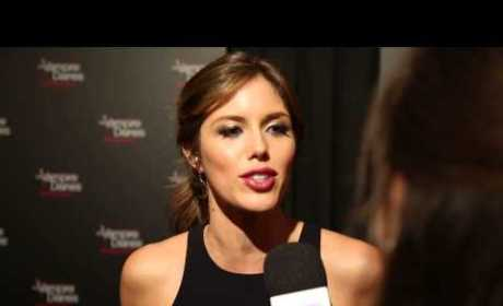 Kayla Ewell Red Carpet Interview: Talking TVD!
